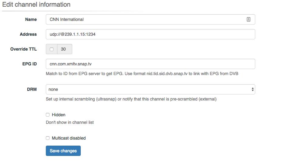 HowTo Setup EPG and XMLTV - SnapTV Document Archive